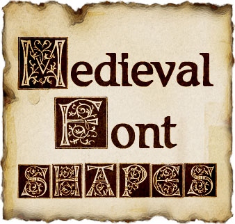 Medieval font effigy